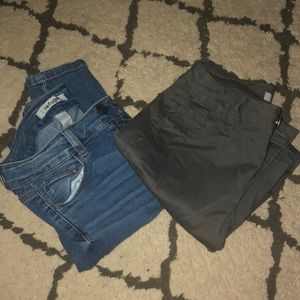 BUNDLE American Eagle dark jeans / ripped